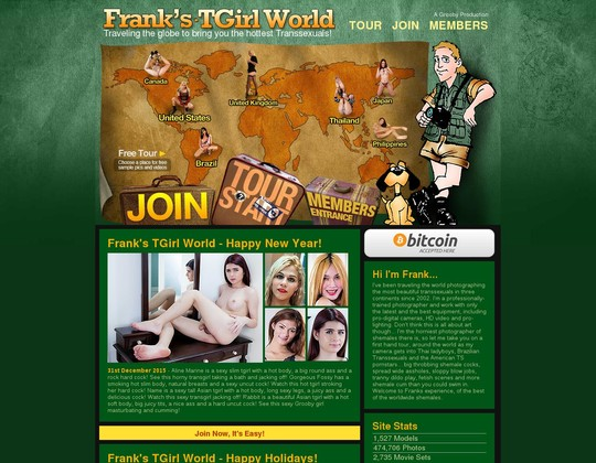 franks t-girl world franks-tgirlworld.com
