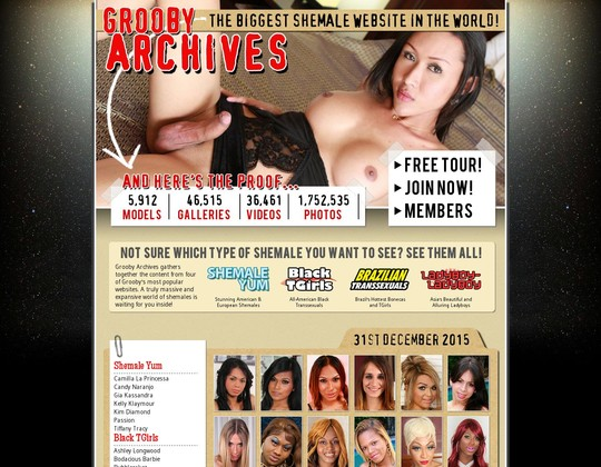 the grooby archives grooby-archives.com