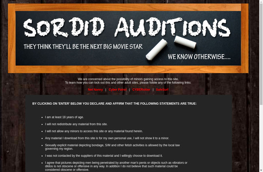 sordidauditions.com