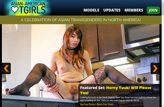Asian American TGirls