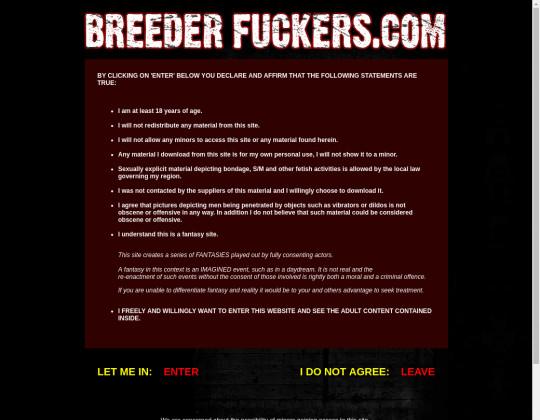 Breeder Fuckers