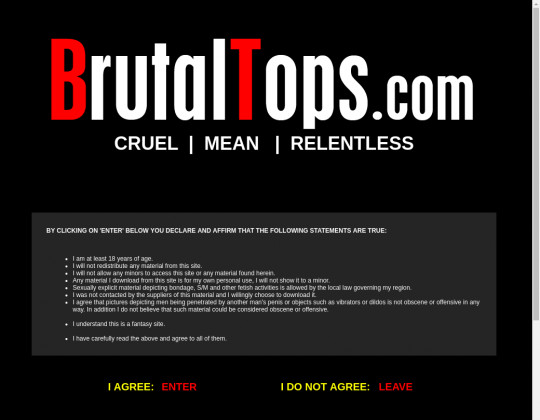 Brutal Tops