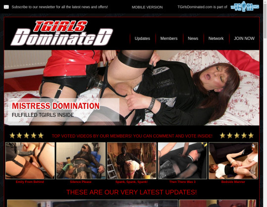 Tgirls Dominated