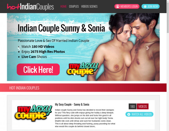 Hot Indian Couples