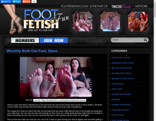 Foot Fetish Fun