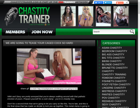 Chastity Trainer