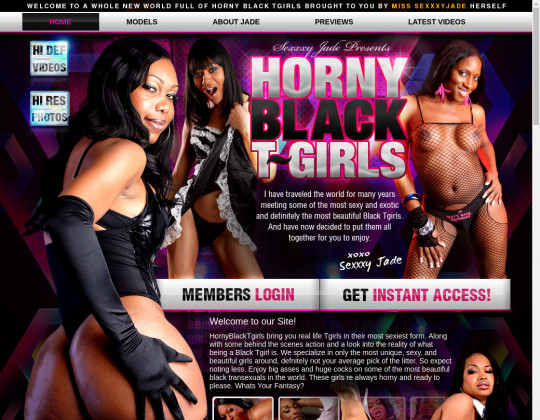 Horny Black Tgirls