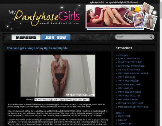 My Pantyhose Girls