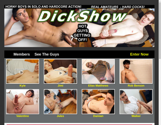 dick show